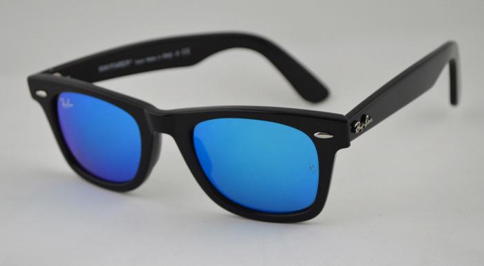 عینک ویفری شیشه آبی Blue wafery glass