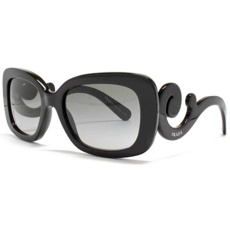 4 عینک زنانه پرادا لیدیس فریم مشکی و طلایی Prada ladies
