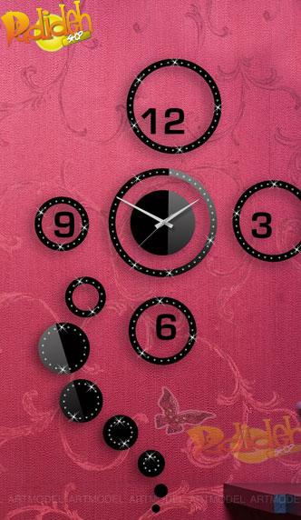 فروش پستی اینترنتی ساعت دیواری پانا قیمت دایره پانا دایره