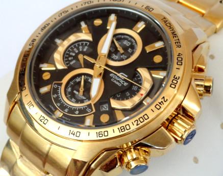 ساعت کاسیو طرح ۵۵۴ رنگ طلایی
