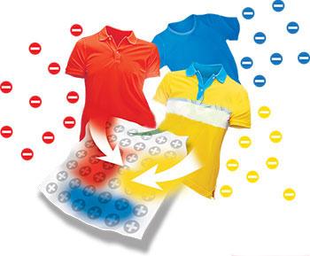 دستمال ضد رنگ لباس ایزی واش مناسب هنگام شسشوی لباسها