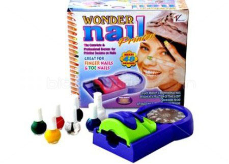 خرید پستی  دستگاه طراحی ناخن Nail Printer