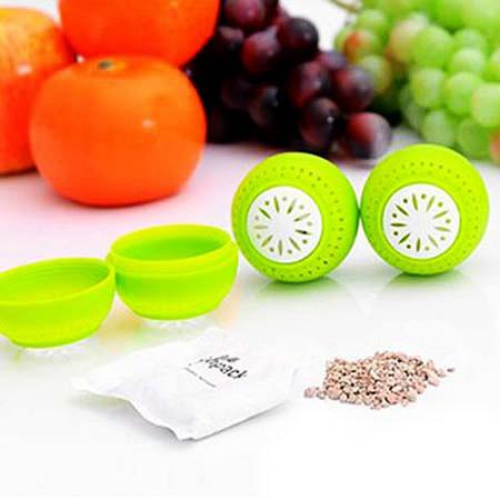 توپ های تازه نگهدارنده میوه و سبزیجات Fridge Balls