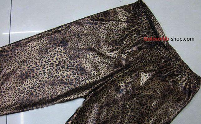 ساپورت طرح پلنگی براق زنانه کاملا جذب و اندامی سایز 36 تا 42