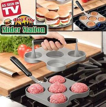 خرید پستی مینی برگر ساز بیگ سیتی Mini Burger Maker