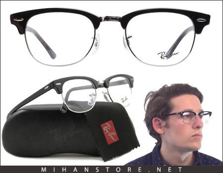 عینک ری بن کلاپ مستر شفاف