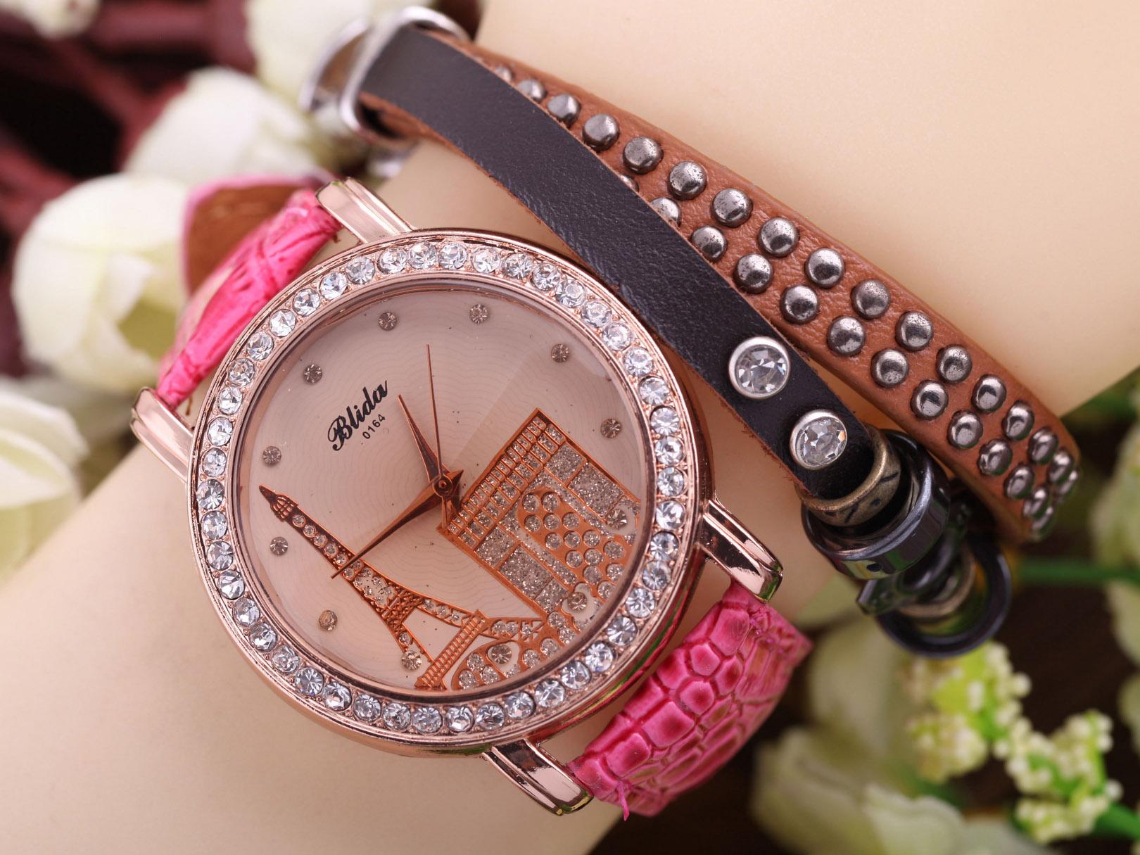 ساعت مچی دخترانه پاریس