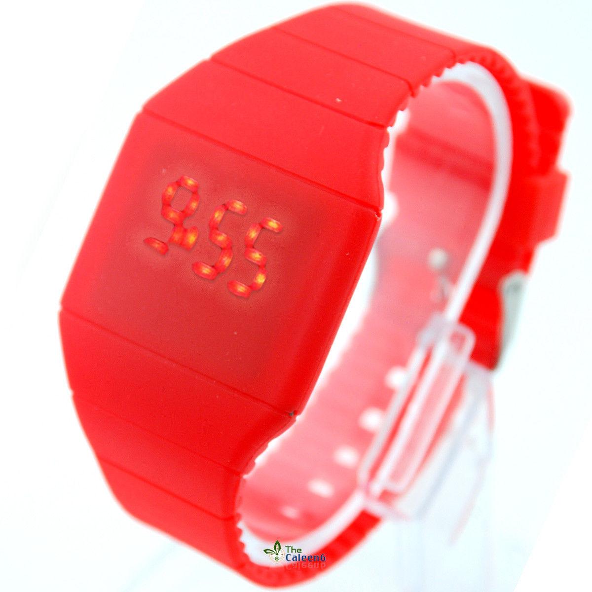 ساعت LED لمسی
