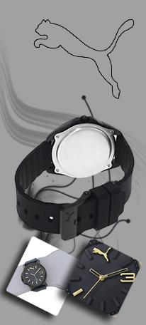 ساعت مچي تخفیف ویژه puma 3
