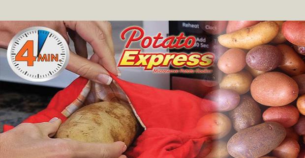 خرید پستی  کیسه پخت سیب زمینی Potato express bag