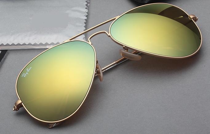 عینک ری-بن شیشه سبز آینه ای