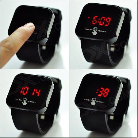خرید ساعت LED تاچ اسکرین