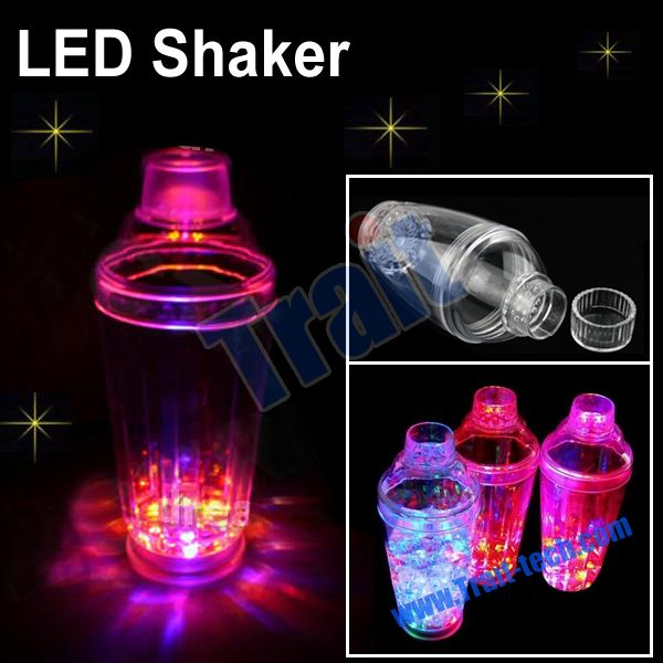 Lite-up LED shaker