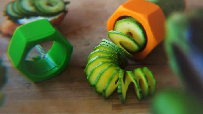 Cucumbo Cucumber Spiral Slicer