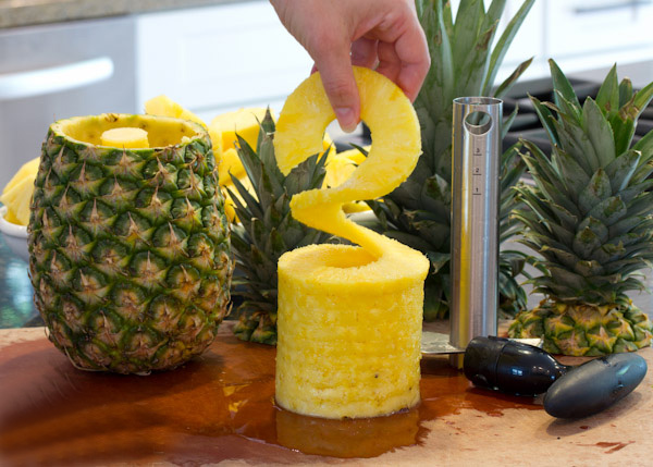 خرید پستی  پوست کن آناناس ایزی اسلایسر فلزی