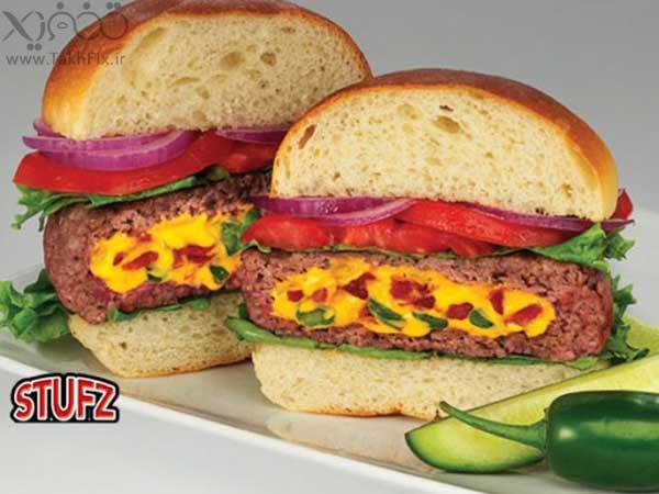 خرید پستی  همبرگر ساز stufz