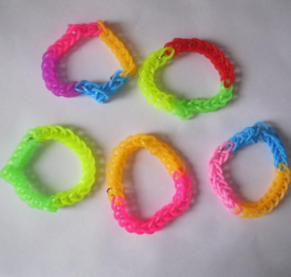دستبند فانی بافت Loom Bands