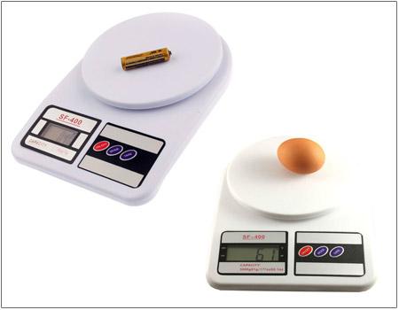 خرید پستی  ترازوی آشپزخانه دیجیتال SF-400