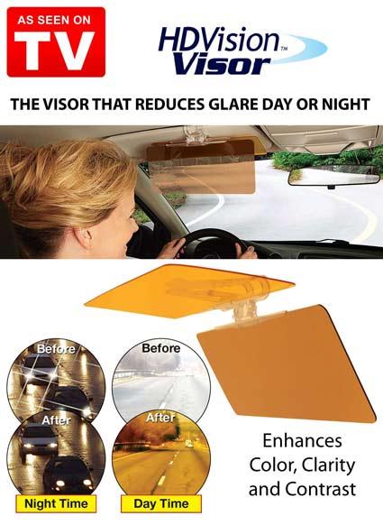 Hd Vison Visor 7 آفتاب گیر و سایبان Hd Vison Visor