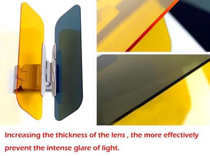 Hd Vison Visor 5 آفتاب گیر و سایبان Hd Vison Visor