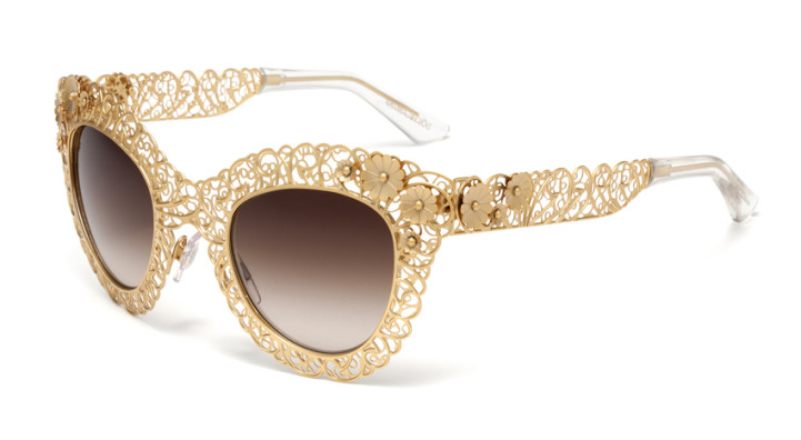 خرید اینترنتی عینک آفتابی زنانه D&G Glasses