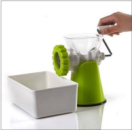 گوشت چرخ کن دستی خانگی با پایه تثبیت دستگاه