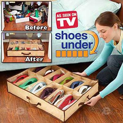 خرید پستی  جا كفش جادویي shoes under