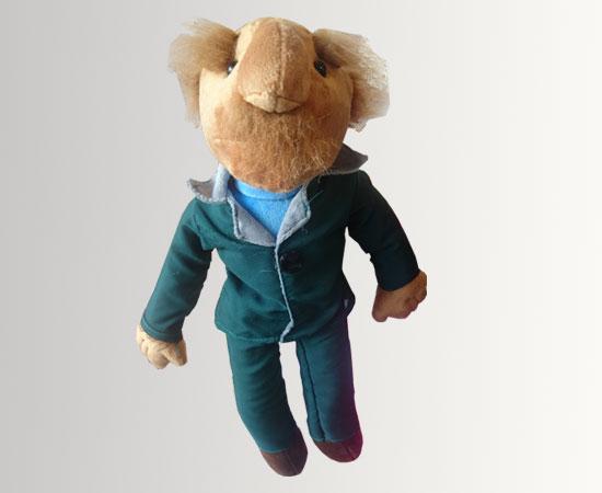 خرید ارزان عروسک فامیل دور جنس از پارچه پولیشی