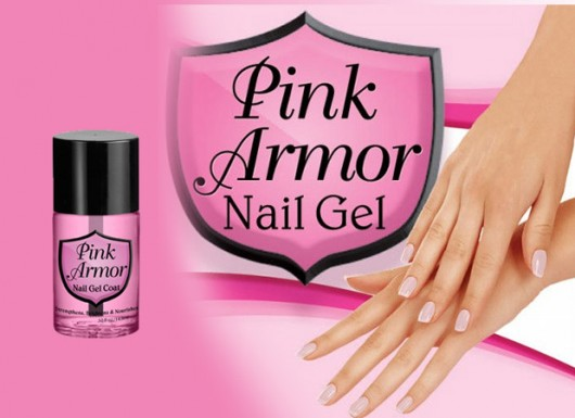 ژل محافظ لاک ناخن پینک آرمر Pink Armor