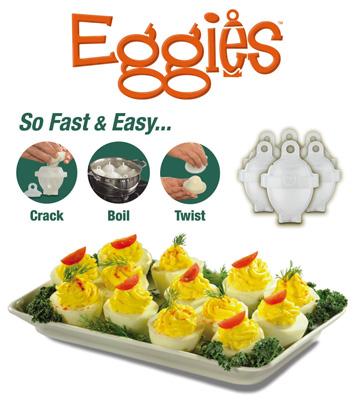 خرید ارزان قالب پخت تخم مرغ آب پز Eggies بدون روغن و کره