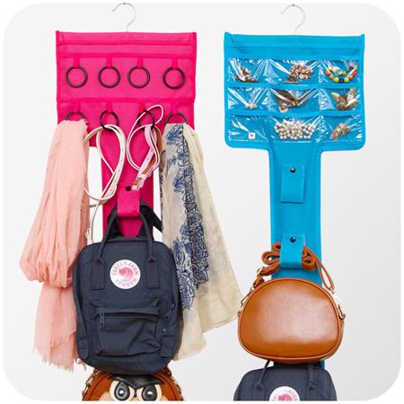 خرید پستی  آویز جواهرات و شال و کیف Bags Jewelry Organizer