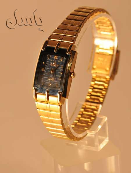 ساعت مچی طلایی زنانه EMPOWER
