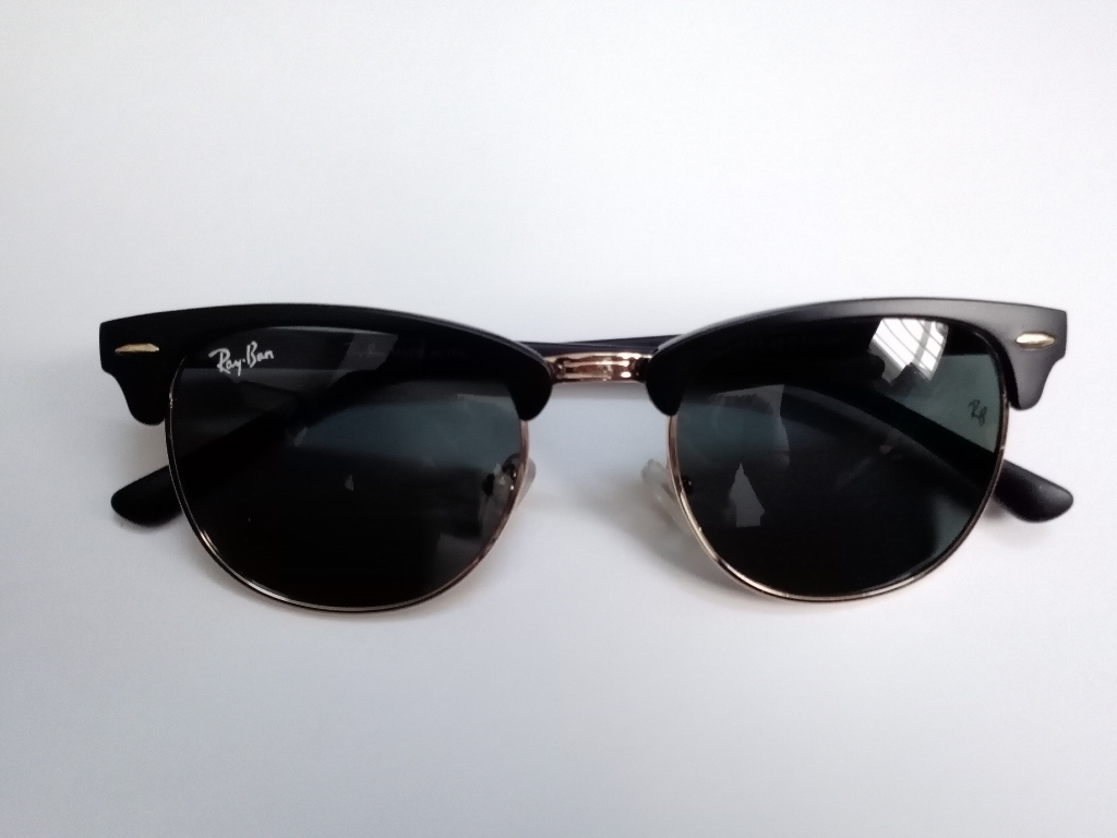عینک ری بن کلاپ مستر شیشه مشکی