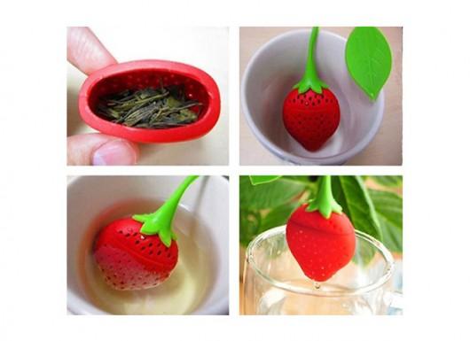 خرید پستی  چای ساز شخصی توتفرنگی