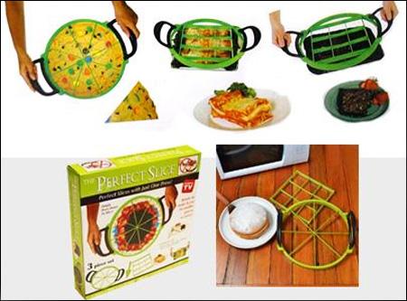خرید پستی  برش زن کیک و پیتزا - The Perfect Slicer