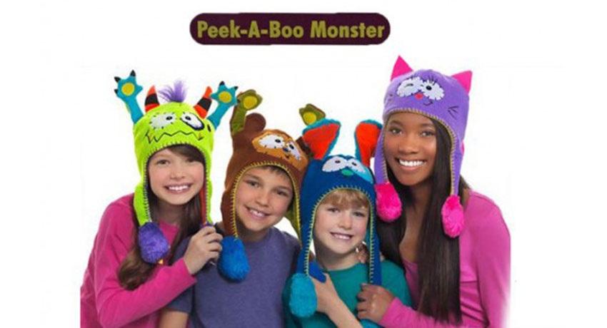 کلاه بچگانه طرح حیوانات Flipeez