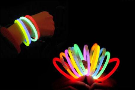 خرید ارزان دستبند led 10 تایی بکلایت