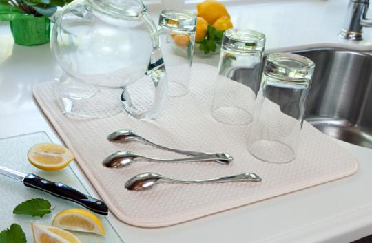 حوله آبگیر ظروف Dish Drying Mat