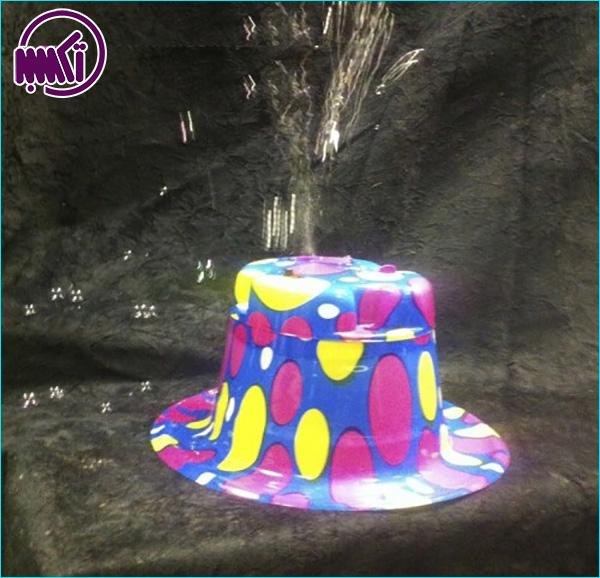 کلاه حباب ساز کودک جادویی
