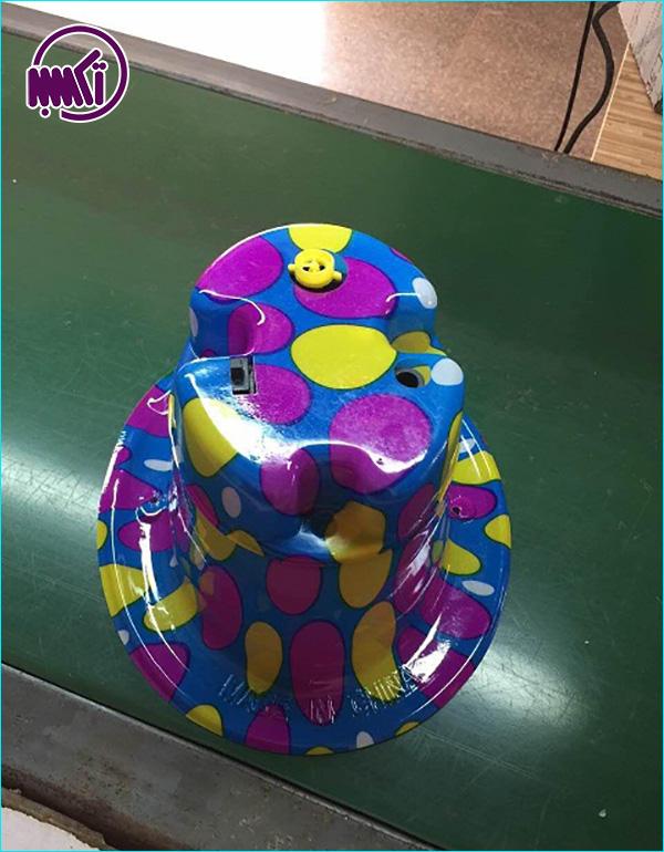 کلاه حباب ساز کودک جادويي