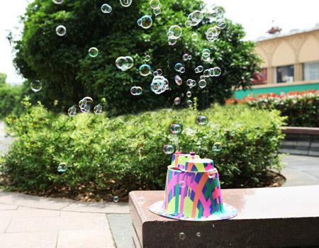 خرید پستی   کلاه حباب ساز کودک جادويي