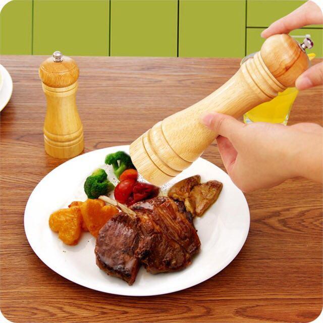 خرید پستی  نمک ساب و فلفل ساب چوبی