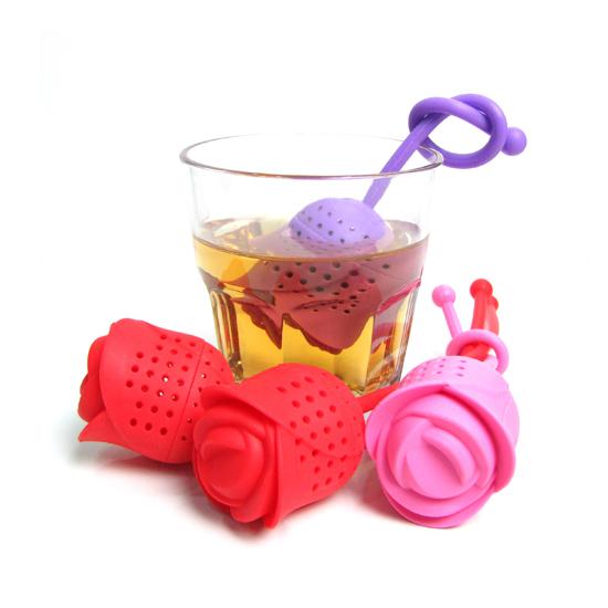 خرید پستی  چای ساز شخصی طرح گل