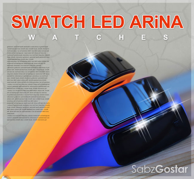 ساعت دستبندی LED Arina اسپرت