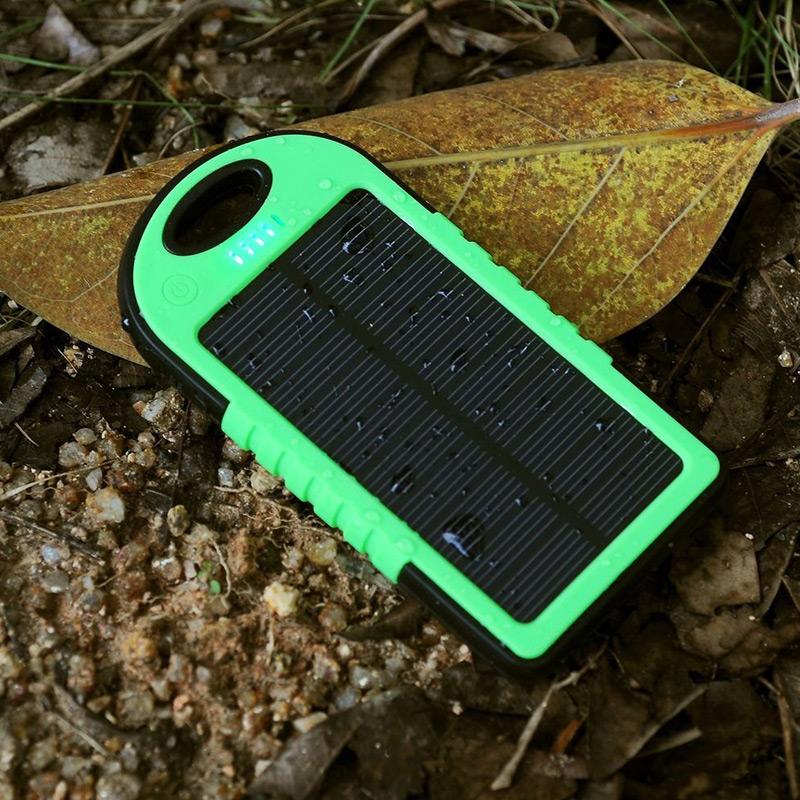 پاوربانک خورشیدی شارژر همراه قدرتمند