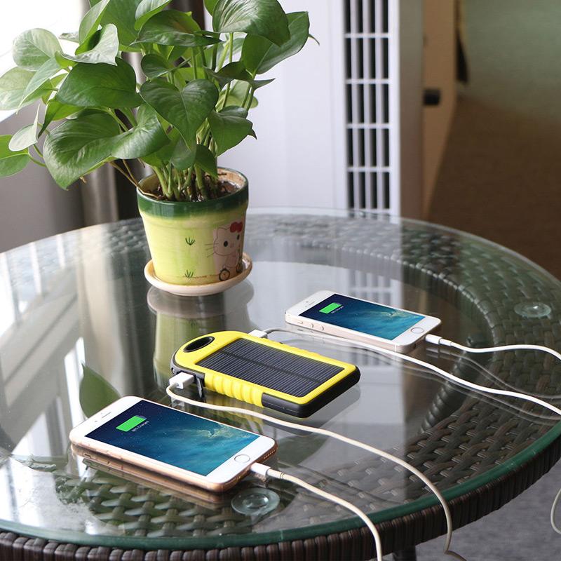 خرید ارزان شارژر همراه پاور بانك خورشیدی