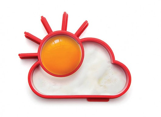 قالب تخم مرغ سیلیکونی 4عددی با شکل های متنوع