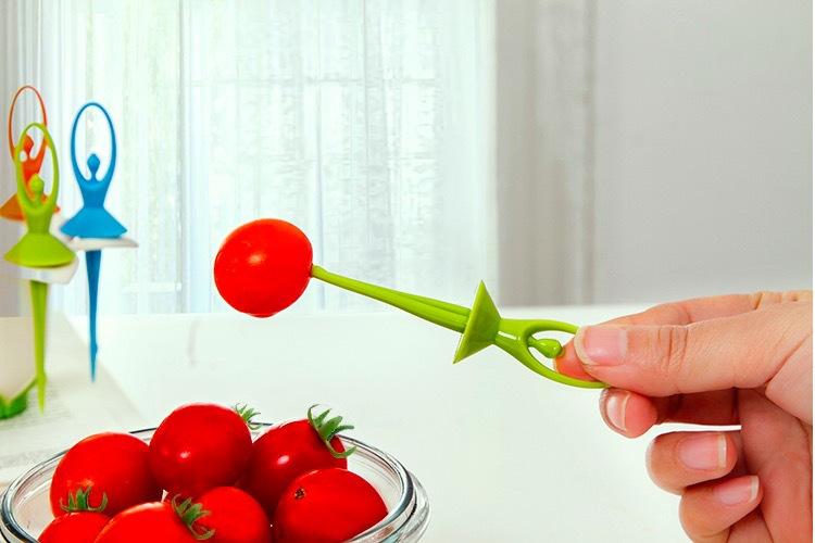 چنگال های میوه خوری فانتزی بالرین