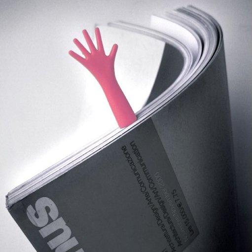نشانه گذار کتاب طرح دست