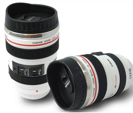 mug lens 5 لیوان با طرح لنز دوربین ( بدون همزن )